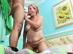 hot granny bushy kiki