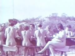 Outdoor Nudists Loving Nude Lifestyle (1950s Vintage)