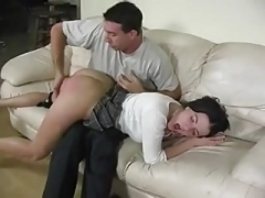 Spanked and additionally fingered