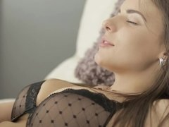 A busty woman likes to do anal and so does her lover here