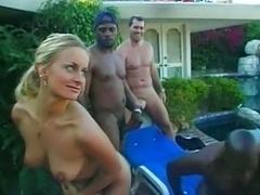 Black Group-fuck Oceane