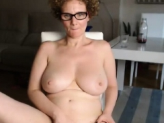 Jaw-dropping Large Breasted Milf Shows Off With Her Juicy Muff