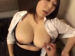 Office Dame Getting Her Love bubbles Rubbed Sucking Guy Knob In The Hotel Room
