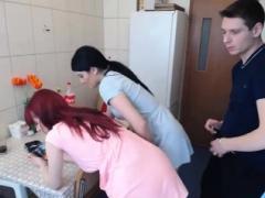Enthousiasteling, Hondjeshouding, Roodharige vrouw, Trio, Webcamera