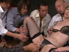 Asiatic mom i`d like to fuck facialized and creampied