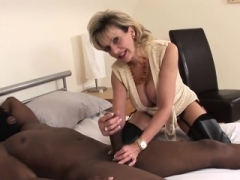 Cheating british soccer mom dame sonia displays her sizeable hooters4