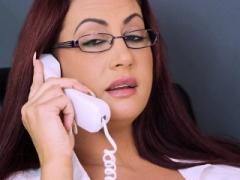 A freelancer have an intercourse monster bra buddies boss