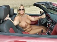Naked trip with my Cabrio