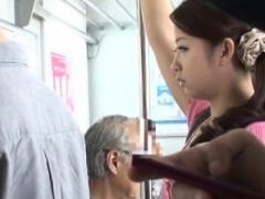 Asiatique, Cul, Sucer une bite, En levrette, Public