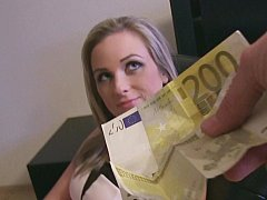 Kont, Lieveling, Blond, Europees, Geld, Gezichtspunt, Kut duiken, Geschoren
