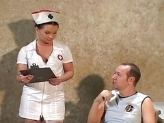 Schmutzig, Krankenschwester, Strümpfe, Uniform