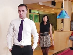 Brazzers - Hooters at Work - Lezley Zen and Keiran Lee -  E
