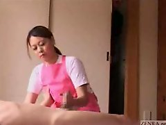 Japanese caregiver gives hand additionallyjob and additionally more