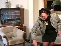 Granny Straps and moreover Spanks the Boy pt3