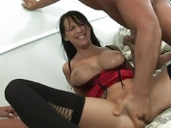 MFM three-way with hot Sexually available mom