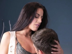 Eveline Dellai In Petite tits sex loving beauty plowed