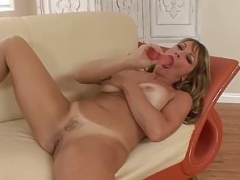 Big-breasted cougar IR fucked and cum blasted after giving a blowjob