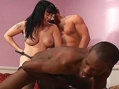 Bisexual, Interracial, Strapon
