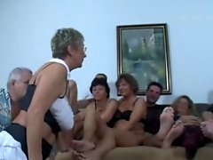 German Grown-up Swingers Get down and dirty Party