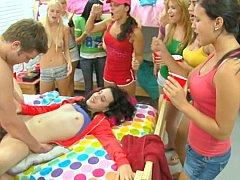 Blondine, Blasen, Studentin, Hochschule, Studentenwohnheim, Hardcore, Party, Student