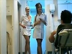 Handbeurt, Verpleegster
