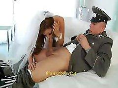 Melanie Rios brings home her soldier husband to make love him crazy