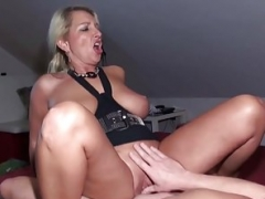 German Non-pro Mom i`d like to fuck seduce to Make love by a duo Stranger