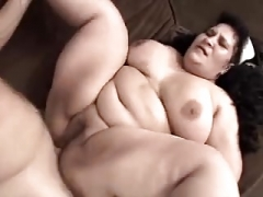 Real bbw Selina pays a visiter