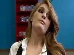 A pair of Redheads Seduce Their Teacher