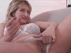 Mutti beim Sex Casting