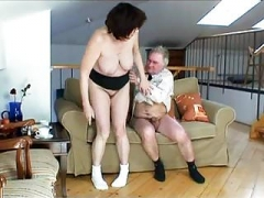 Big-breasted Heavyweight Granny Has Sex With Grandpa