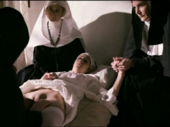 Innocent hot nuns cant resist their lesby temptation