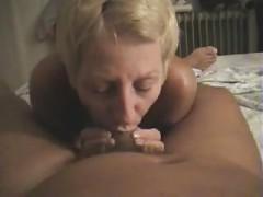 Nudist, Ablutschen, Ehefrau