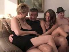 German Intimate Amateurs in Orgie