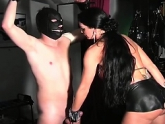 Adore nasty femdom goddess & dirty large love pole going at it