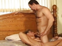 Internal cumshot For Swinger Housewife From Excited Stranger