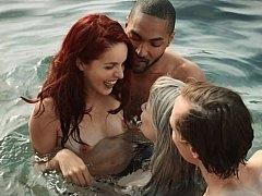 Poolside psycho sex