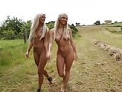 2 blonde sexbombs to make you hard