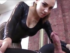 Amarrada, Dominacion femenina, Masturbación, Esclavo