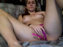 Boobalicious amateur toying booty vision
