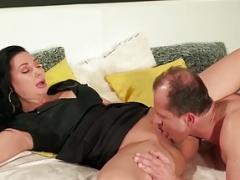 Sexy bum MILF Eva Ann railed deeply in her wet pink cunt