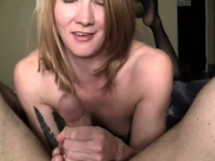 Fitness Adult model Redhead Gives Amazing Handjob
