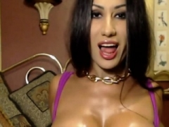Sexy brunette eager mom in a individual act in high-def