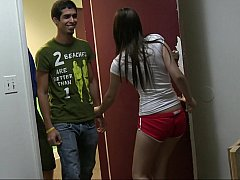 18 летние, Брюнетки, Одноклассница, Колледж, Группа, Секс без цензуры, Реалити, Молоденькие