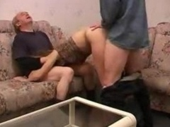 Russain Teenage 3some Aged Lad Gets down and dirty