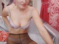 Lingerie, Masturbation, Nylon, Russisch