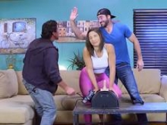 Brazzers - Brazzers Exxtra - Abella Danger Charles Dera and also Tommy Gunn -  Sybian Gamer Babe