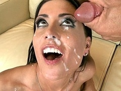 Jessica Jaymes getting fucked & taking facial