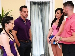 DaughterSwap - Hot and besides Aroused Teens Fucked By Dads