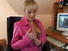 German Blond Boobalicious Mature...